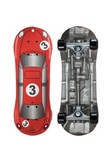 Skateboard PLAY1 RED RACER