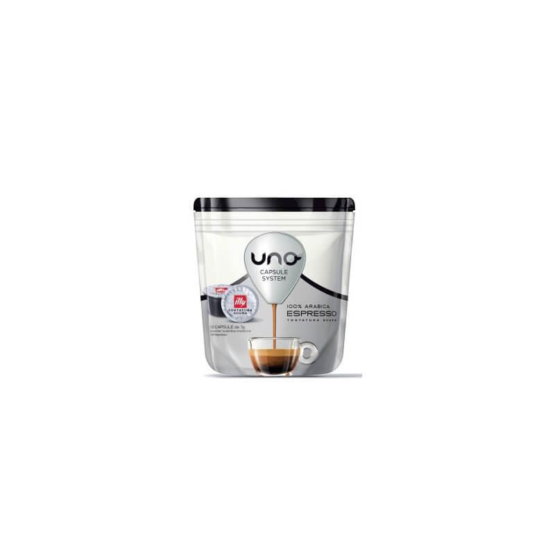Illy Capsule Uno System Tostatura Scura - 16 PZ