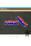 12cm*4cm HRC Motorcycle Sticker and decals A pair hrc DIY moto For Honda CBR1000RR CBR600RR 250R 600F car-styling Sticker