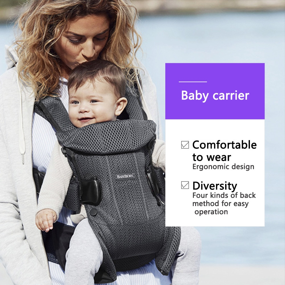 Baby Bjorn Baby Strap Mesh Front Hold-Style Baby Hug Baby Artifact out Simple Lightweight Multi-Function