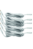 5 pcs White DC 5V Extension Power Cable Cord 3M 3.5*1.35 For IP Camera EasyN Foscam Vstarcam
