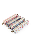 Mini Retro Flower Floral Lace Pencil Case, Pencil Bag School Supplies Cosmetic Makeup Bag Zipper Pouch Purse, Estojo Escolar