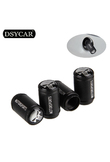 DSYCAR 4Pcs/lot Universal Car Moto Bike Tire Wheel Valve Cap Dust covers Car Styling for Fiat Audi Ford Bmw VW Honda opel toyota