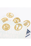 1PC Cute Gold Metal Bookmark Fashion Birdcage Crown Cat Clips for Books Paper Creative Products Stationery