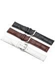 Gorgeous Women's Men's Unisex Faux Leather Watch Strap Buckle Band Black Brown White