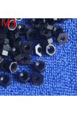 M2/M2.5/M3/M4 1 pcs black nylon hex nut 2/2.5/3/4mm plastic nuts RoSH Hexagon PC Electronic accessories Tools etc