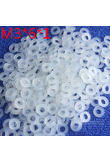 M3*6*1 1pcs White Nylon Washer Plastic Flat Spacer Washer Thickness circular round Gasket Ring High Quality circular
