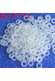 M2.5*5*1 1pcs White Nylon Washer Plastic Flat Spacer Washer Thickness circular round Gasket Ring High Quality circular