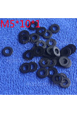 M5*10*1 1pcs Black Nylon Washer Plastic Flat Spacer Washer Thickness circular round Gasket Ring High Quality circular