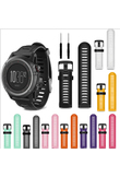 26mm Width Watch Strap for Garmin Fenix 3 Band Outdoor Sport Silicone Watchband for Garmin Fenix3HR/Fenix 5X with tools