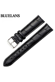2017 Women's Men's Unisex Faux Leather Watch Strap Buckle Band Black Brown White