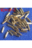 M2*10+3 1Pcs brass Standoff 10mm Spacer Standard Male-Female brass standoffs Metric Thread Column High Quality 1 piece sale