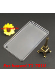 fashion high quality crystal Transparent TPU Back Cover Case For Huawei Mediapad T1 7.0 T1-701 T1-710U Soft silicone Tablet case
