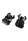 FOR GO Pro Accessories Quick-Release Buckle Mount Base Tripod Adapter For Gopro Hero 1 2 3 3+ 4 5 Action Camera 2 Pieces