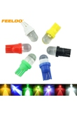 1PC DC12V 5-Color T10 194 168 1 LED Convex LED Wedge LED Light Bulbs for Car Dashboard #FD-3802