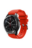 New Fashion 2017 Nov24 Sports Silicone Bracelet Strap Band For Samsung Gear S3 Frontier red send in 2 days