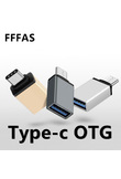 FFFAS USB 3.0 Type-C OTG Cable Adapter Type C USB-C OTG Converter for Xiaomi Mi5 Mi6 Huawei P9 P10 Mouse Keyboard USB DIsk Flash