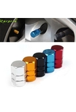 High Quality New 4pcs/pack Theftproof Aluminum Car Wheel Tires Valves Tyre Stem Air Caps Airtight Cover hot selling