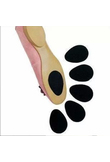 2018 Hot Anti-Slip Silicone Gel Insole Foot Heels Shoes Anti Slip Cushion Pads