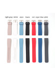 20mm Sport durable Silicone Watch Bands Strap for Samsung Gear S2 Classic SM-R732 Watch For MOTO 360 2nd smart watch men's 42mm