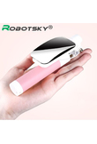 MiniPai Wired Mirror Selfie Stick for iPhone 6 6S 5s Samsung Android Monopod Pau de Selfie Front/Back Camera Palo