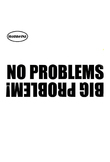 HotMeiNi No Problems 4x4 cm Off for Road Land Rover for Jeep Funny Sticker JDM Moto Coche Motorcycle Decorating Stickers