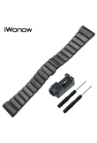 26mm Stainless Steel Watch Band + Link Remover + Screwdriver for Garmin Fenix 3 / HR / 5X Butterfly Buckle Strap Wrist Bracelet