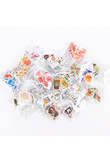 70Pcs/pack Cute Cartoon Handbook Stickers Diary Sticky Post It Sticker Students' Decoration Label Stationery & Gift Papelaria
