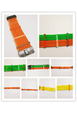 Updated WinfMOD Red/Black/White/Transparent Cable Combs / Cable Clamp / Clip for 24/16/14/12/8/6/5/4Pin Sleeving (4mm) Cables