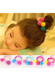 New Arrival 1PC Women Girls Children Lovely Ball Delicate Colorful Elastic Hair Band Hair Rope Hair Accessories