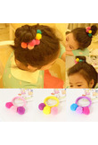 1PC Fashion Lovely Girls Children Delicate Colorful Elastic Hair Band Hair Rope Hair Accessories