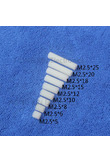 M2.5*5/6/8/10/12/15/18/20/25 1pcs White nylon Standoff Spacer Standard M2.5 Female-Female Standoff Kit Repair parts