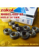 ZOKOL 688 ZZ 2RS 688RS 688 bearing Miniature 688ZZ P5Z4 Z1 Deep Groove ball bearing 8*16*4mm 8*16*5mm