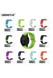 XBERSTAR Strap Watchband for Garmin Fenix 3 5X 3HR 3 Sapphire D2 Bravo Wuatix3 Tactix Bravo 26mm Sports Silicone Quick Release