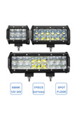 30W 60W 90W Offroad LED Work Light Bar Car ATV Trailer Camper Truck 4x4 4WD Auto Caravan 4 6 9 Inch Fog Lamp 12V 24V Headlight