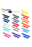 TEAROKE 16 Colors Silicone Watchband for Samsung Galaxy Gear S2 R720 R730 Band Strap Sport Watch Replacement Bracelet SM-R720