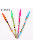 Kawaii Cartoon Animals Pencil Cute Girl Plastic Pencil Standard Pencils Stationery Gifts for Kids Students Supplies