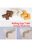 Hot sell 4 pcs Furniture fittings Anti-crash Protector Baby Safe Desk Table Corner Security Cushion safety protection