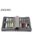 JINGHAO KACO ALIO Black or Grey Waterproof Canvas Pencil Bag Branch makeup Pen bag best gift for girl free shipping