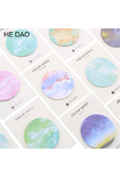 Natural Dream Series Self-adhesive Memo Pad Sticky Notes Post It Bookmark School Office Supply