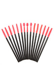 Fashion Disposable Eyelash Brush Silicone Cosmetic Tool Mascara Applicator Eyelashes Comb Makeup Brushes 50/100 Pcs/Set H7JP
