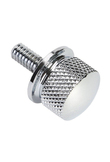 MAYITR 1pcs Stainless Steel Motorcycle Seat Screw Bolt Billet for Harley Sportster Street Glide Silver