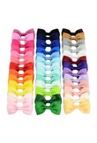 1PCS Pretty Colorful Barrettes for Children Baby Girls Ribbon Hair Clip Bows Hair Accessories Hairgrip Best Friend Holiday Gift