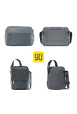 XIAOMI 90FUN City Concise Series Shoulder Messenger Crossbody Bag Water Resistant Casual Laptop Daypack for School Men Women