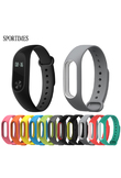 SPORTIMES Colorful Silicone Anti-fading Wrist Strap Replacement Watchband for Original Miband 2 Xiaomi Mi band 2 Wristbands