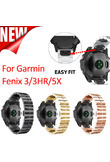 26mm Width Garmin Fenix 5X Band Metal Easy Fit Stainless Steel Watch Bands for Garmin Fenix 5X/Fenix 3/Fenix 3 HR
