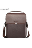 2019 New Fashion PU Leather Male Shoulder Crossbody Bags Messenger Small Flap Business Casual Handbags crossbody ipad briefcase