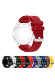 22mm Sports Silicone Strap for Samsung Gear S3 Frontier Band for Gear S3 Classic Rubber Watchband Replacement Wristband