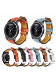 Genuine Leather Replacement For Samsung Gear S2 Watch band Gear Sport SM-R600/ Gear S2 Classic SM-R732 & SM-R735 Smart strap