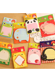 Creative Cute Forest Animal Series Cute Paper Memo Pad / Sticker Post Sticky Notes Notepad student supplies learning supplies